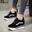 รองเท้าผ้าใบสีดำ งานนำเข้า100% ST921-BLK thumbnail 4
