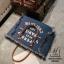 กระเป๋าแฟชั่นนำเข้าทรง shopping bag ดีไซน์เก๋ส์ MB18-01701-DNIM (สียีนส์) thumbnail 5