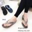 รองเท้าแตะเพื่อสุขภาพสีเทา คีบ YT122-เทา thumbnail 4