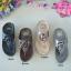 รองเท้าแตะพื้นสุขภาพสีเทา งานเย็บหน้ากุหลาบ 992-30-GREY thumbnail 4