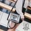 กระเป๋าแฟชั่นงานนำเข้าทรงยอดฮิตปักเลื่อมวิ๊บวับ MB18-01604-SIL (สีเงิน) thumbnail 4