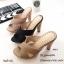 รองเท้าแตะส้นสูงแบบสวมไขว้ 3006-5-ชมพู (สีชมพู) thumbnail 4