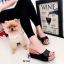 รองเท้าแตะเสริมส้นแบบสวม 981-82-ดำ (สีดำ) thumbnail 2