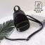 กระเป๋าสะพายกระเป๋าถือ แฟชั่นงานนำเข้าใบเล็กสไตล์สุดฮิต MB18-01204-BLK [สีดำ]