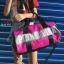 กระเป๋าแฟชั่นนำเข้า ด้านหน้าสกรีน PINK BAI-276-PNK (สีชมพู) thumbnail 4