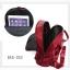 กระเป๋าเป้ผู้หญิงผ้าไนล่อนอย่างดี กันน้ำได้ BAG-052-แดง (สีแดง) thumbnail 3