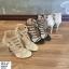 พร้อมส่ง รองเท้าส้นสูง สไตล์เกาหลี 16-1312-GLD [สีทอง] thumbnail 3