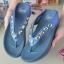 รองเท้าแตะพื้นสุขภาพสีกรม สไตล์ YT122-NAVY thumbnail 3