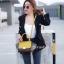 พร้อมส่ง กระเป๋าสะพายข้างผู้หญิง Mini Days Bag [สีเหลือง] thumbnail 3