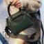 กระเป๋าแฟชั่นนำเข้าดีไซน์สุดเก๋ส์ B12019-GRN (สีเขียว) thumbnail 1