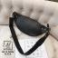 กระเป๋าสะพายกระเป๋าคาดเอวกระเป๋าคาดอก แบบคาดอกงานนำเข้าสุดเก๋ส์ MB18-00505-BLK [สีดำ] thumbnail 4