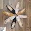พร้อมส่ง รองเท้าคัชชูส้นเหลี่ยม D600303-BLK [สีดำ] thumbnail 3