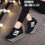 รองเท้าผ้าใบสีดำ ST8029-BLK thumbnail 2