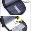 แบบมาใหม่ กระเป๋าเป้ผู้ชาย ดีไซน์สุดเท่ห์ BAG-071-น้ำเงิน (สีน้ำเงิน) thumbnail 3