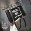กระเป๋าแฟชั่นงานนำเข้าทรงยอดฮิตปักเลื่อมวิ๊บวับ MB18-01604-BLK (สีดำ) thumbnail 3