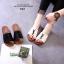 รองเท้าแตะผู้หญิงสีขาว สไตล์YSL sandals LB-602-WHI thumbnail 2