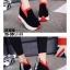 รองเท้าผ้าใบสีแดง ST1618-RED thumbnail 4