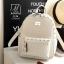 กระเป๋าสะพายเป้กระเป๋าถือ เป้แฟชั่นนำเข้าดีไซน์เก๋ส์ B-96-CRM (สีครีม) thumbnail 1