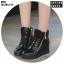 รองเท้าผ้าใบสีดำ ST01-BLK thumbnail 1