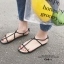 รองเท้าแตะผู้หญิงรัดส้นสีดำ Celine sandals LB-C55-1-BLK thumbnail 3