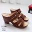 รองเท้าสุขภาพสีม่วง พื้นนุ่ม LB-10183-ม่วง thumbnail 2
