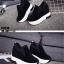 รองเท้าผ้าใบสีดำ ST1618-BLK thumbnail 5