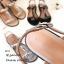 รองเท้าแตะโซ่คาดหน้า G4112-ครีม (สีครีม) thumbnail 3