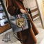 กระเป๋าสะพายกระเป๋าถือ แฟชั่นงานนำเข้าใบใหญ่สไตล์แบรนด์ดัง MB18-01401-GRY [สีเทา] thumbnail 3