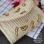 กระเป๋าสะพายกระเป๋าถือกระเป๋าสาน แฟชั่นนำเข้างานสาน hand made MB18-01101-YEL (สีเหลือง) thumbnail 2