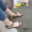 รองเท้าแตะผู้หญิงรัดส้นสีดำ Celine sandals LB-C55-1-BLK thumbnail 4