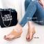 รองเท้าเตารีด แบบคีบ mcm 915-78-TAN (สีแทน) thumbnail 1