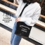 กระเป๋าสะพายกระเป๋าปักเลื่อม แฟชั่นงานนำเข้าทรงกระบอกปักเลื่อมวิ๊บวับ MB18-01205-BLK (สีดำ) thumbnail 3