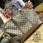 กระเป๋าสะพายกระเป๋าถือ แฟชั่นนำเข้าไซส์ใหญ่สไตล์แบรนด์ดัง MB18-00703-GLD (สีทอง) thumbnail 1
