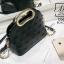 กระเป๋าสะพายกระเป๋าถือ ดีไซน์สุดเก๋ส์ นำเข้า 12300-BLK (สีดำ) thumbnail 3