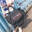 กระเป๋าแฟชั่นนำเข้า ปักเลื่อม PINK Style Victoria's secret BAI-1901-BLK (สีดำ) thumbnail 2