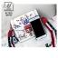 กระเป๋าแฟชั่นนำเข้าลายสุดเก๋ส์สไตล์แบรนด์ดัง BX1022-WHT (สีขาว) thumbnail 5