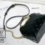 กระเป๋าสะพายกระเป๋าถือ ดีไซน์สุดเก๋ส์ นำเข้า 12300-BLK (สีดำ) thumbnail 4