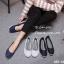 รองเท้าผ้าใบพื้นสุขภาพ 265-42-ดำ (สีดำ) thumbnail 3