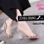 พร้อมส่ง รองเท้าส้นสูง ส้นแก้ว 17-4094-PNK [สีชมพู] thumbnail 2