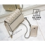กระเป๋าสะพายกระเป๋าถือ แฟชั่นนำเข้าดีไซน์สุดหวาน AX-12292-CRM (สีครีม) thumbnail 4