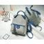 กระเป๋าสะพายเป้กระเป๋าถือ เป้แฟชั่นนำเข้าดีไซน์สุดน่ารัก AX-A12398-GRY [สีเทา] thumbnail 2