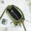 แบบมาใหม่ กระเป๋าสะพายผู้หญิงหนังอยู่ทรง 8081-เขียว (สีเขียว) thumbnail 3