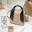 กระเป๋าสะพายกระเป๋าถือ แฟชั่นนำเข้าทรงสี่เหลี่ยมสไตล์เกาหลี AX-12394-PNK [สีชมพู] thumbnail 3