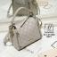 กระเป๋าสะพายกระเป๋าถือ แฟชั่นนำเข้างานเรียบโก้ แบรนด์ axixi AXI-A12368-GRY (สีเทา)