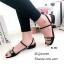 รองเท้าแตะคาดlv B4-382-ดำ (สีดำ) thumbnail 4