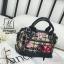 กระเป๋าแฟชั่นงานนำเข้าดีไซน์เก๋ส์สไตล์แบรนด์ดัง MB18-02504-BLK (สีดำ) thumbnail 2