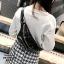 กระเป๋าสะพาย กระเป๋าคาดเอวกระเป๋าคาดอก แฟชั่นงานนำเข้าแบบคาดปักเลื่อม MB18-01206-BLK [สีดำ] thumbnail 5