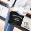 กระเป๋าสะพายกระเป๋าปักเลื่อม แฟชั่นงานนำเข้าทรงกระบอกปักเลื่อมวิ๊บวับ MB18-01205-BLK (สีดำ) thumbnail 2