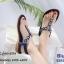 รองเท้าแตะรัดส้นสีกรม พื้นนิ่ม B2626-8-กรม thumbnail 4