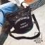 กระเป๋าสะพายกระเป๋าปักเลื่อม แฟชั่นงานนำเข้าทรงกระบอกปักเลื่อมวิ๊บวับ MB18-01205-BLK (สีดำ) thumbnail 1
